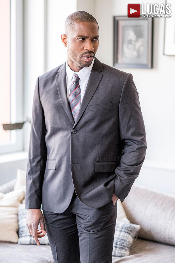 Lawrence Portland Stars In Today's 'Gentlemen' Scene